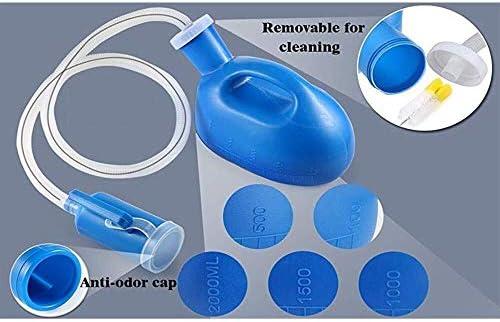 便器 病院ホームカンペール旅行用便器メンズ便器ポータブル便器2000mlの(ブルー) ユニセックス便器