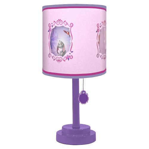 Disney Sofia the First Collection for Nursery / Toddler Room (Table Lamp)