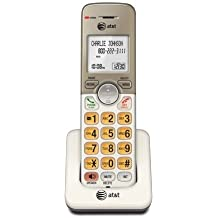 AT&T EL50013 Accessory Cordless Handset, Gold/White | Requires AT&T EL52103, EL52203, EL52253, EL52303, EL52353, EL52403, or EL52503 to Operate