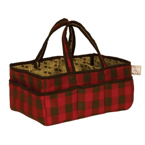 Trend-Lab-Northwoods-Storage-Caddy-RedTan