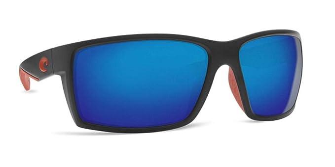 Costa Del Mar Reefton RFT197OBMGLP Reefton gafas de sol envolventes con lentes de marco negro unisex