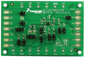 FREESCALE SEMICONDUCTOR KIT34676EPEVBE MC34676, DUAL 28V, LI ION BATT CHARGER, EVAL BOARD - 28v Lithium Ion Charger