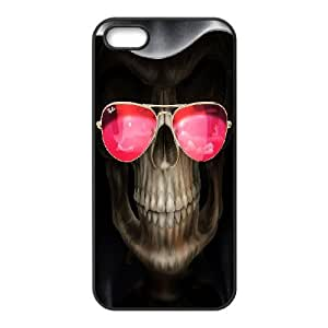 C-Y-F-CASE DIY Horror Skull Pattern Phone Case For iPhone 5,5S