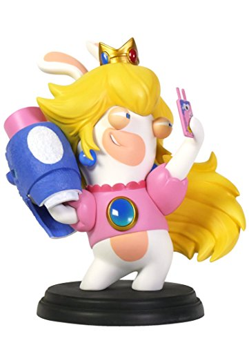"Mario + Rabbids Kingdom Battle Rabbid Peach 6"" Figure [Ubisoft]"