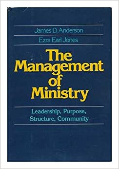Book The Management of Ministry