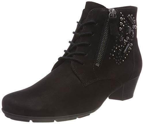 Shoes Botines 17 Basic Femme Gabor Schwarz Noir 6q18qPx