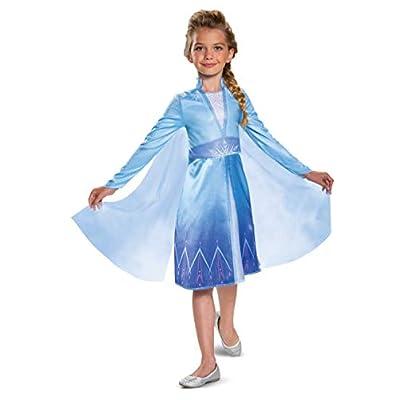Disguise Disney Elsa Frozen 2 Classic Girls' Halloween Costume: Toys & Games