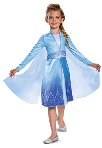 Disguise Disney Elsa Frozen 2 Classic Girls' Costume