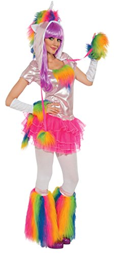 Rubie's Deluxe Unicorn and Headpiece, Rainbow, Small -