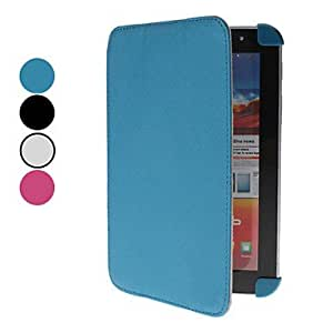Microgroove Pattern PU Leather Case with Stand and for Samsung Galaxy Tab2 P3100 (Assorted Colors) --- COLOR:Rose