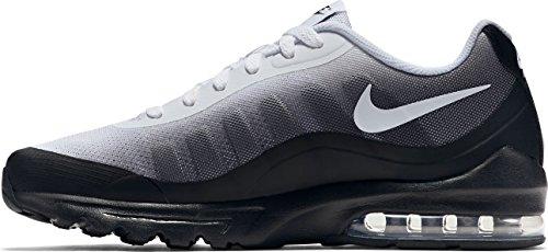 NIKE Men's Air Max Invigor Print Running Shoe, Black/White/Cool Grey, 10.5 M US