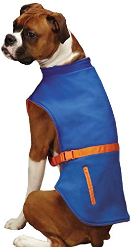 East Side Collection Trek Sport Pet Jacket, XX-Large, bluee