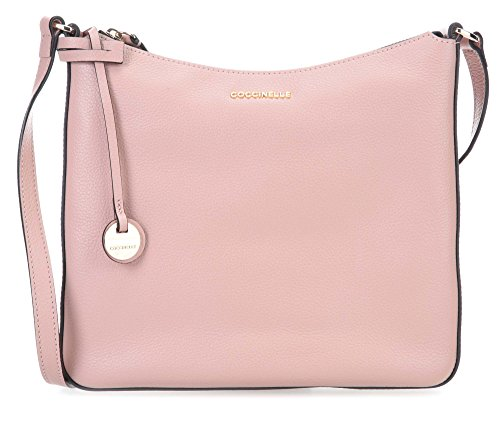 Coccinelle Clementine Soft Borsa a spalla rosa antico