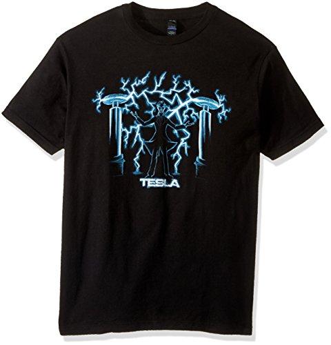 Nikola Tesla, Mad Scientist | Unisex Science Engineering Geek Humor T-shirt