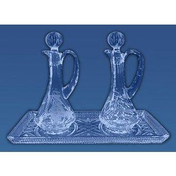 Glass Cruet Set