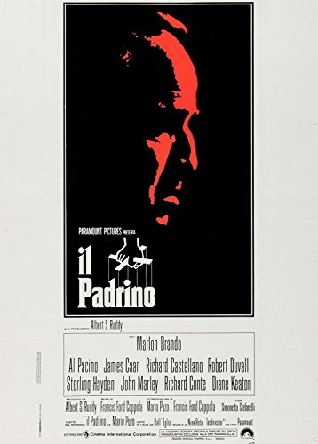 The Godfather Italian Poster