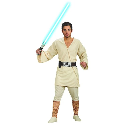 Luke Skywalker Jedi Costume (Rubie's Costume Men's Star Wars Adult Luke Skywalker, Multicolor,)