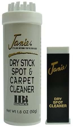 Amazon.com: Janie® Dry Stick Spot & – Limpiador de Alfombras ...