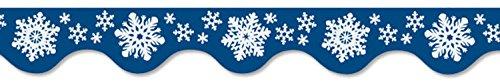 Beistle 6 Winter Wonderland Room Wall Border Trim Scene Setter Decal Decoration]()