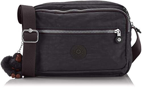 Kipling Women's Nylon Handbag Crossbody (Black 900) by Kipling