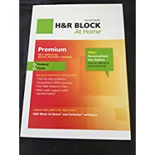 H&R Block at home premium 2012 Federal and state self employed/rental property owners