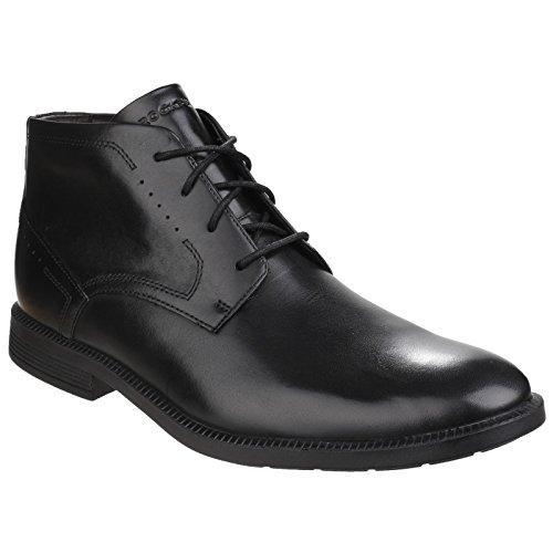 Rockport Dressport Modern Chukka, Botines para Hombre negro