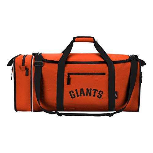San Giants Mlb Francisco Baseball (MLB San Francisco Giants Extended Duffel Bag, One Size, Orange)
