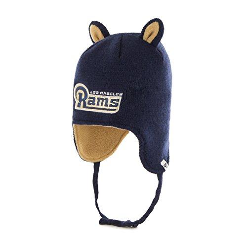 Little Monster Knit Hat - '47 NFL St. Louis Rams Toddler Little Monster Knit Hat, One Size, Light Navy