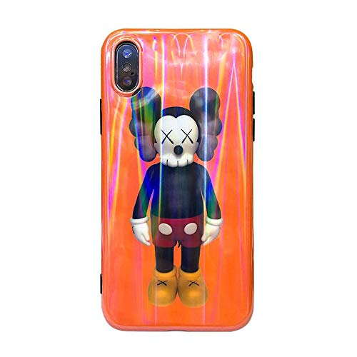 (1 piece Tide brand KAWS XX case for iphone X XS MAX XR 10 8 7 6 6s plus Smooth hand soft matte phone cover for iphone X coque)