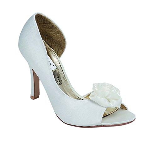 LEXUS - Zapatos con tacón mujer Hueso - marfil