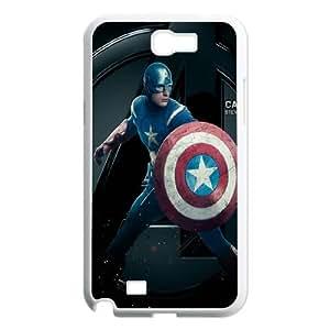 American Shield Black Silicone Case For Samsung Galaxy Note 2 Case AKG289306
