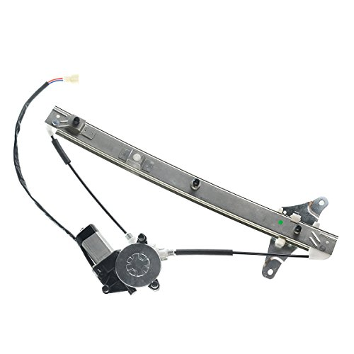 - Front Left Driver Side Power Window Regulator with Motor for Toyota Camry 1992-1996 Sedan Wagon