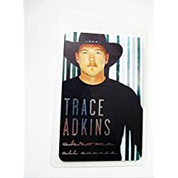 2009 Trace Adkins Chrome Tour Laminated Backstage Pass All Access