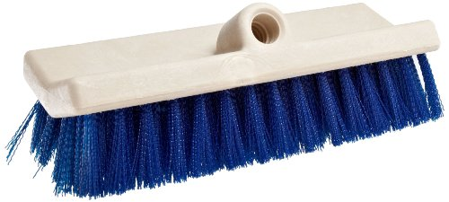 ck Size, Blue Polypropylene Fill, Foam Block, Bi-Level Floor Scrub Brush (Level Scrub Brush)