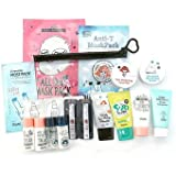 [YADAH] Pore Care + Whitening With 2 Mask Packs Travel Kit