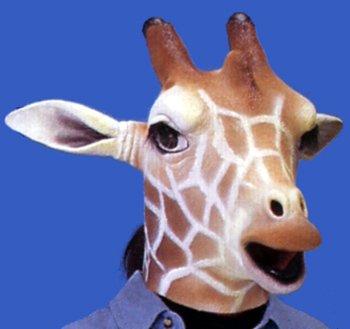Animal Mask Giraffe by Aiko