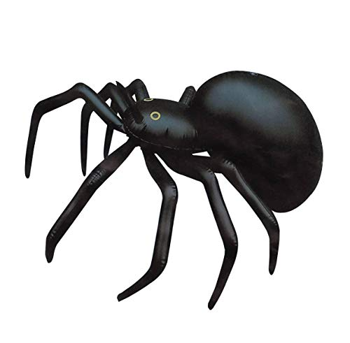 MA ONLINE 91cm Blow Up Inflatable Spider Childrens Toy Kids Fancy Dress Props Party Decoration (Pack of 3)
