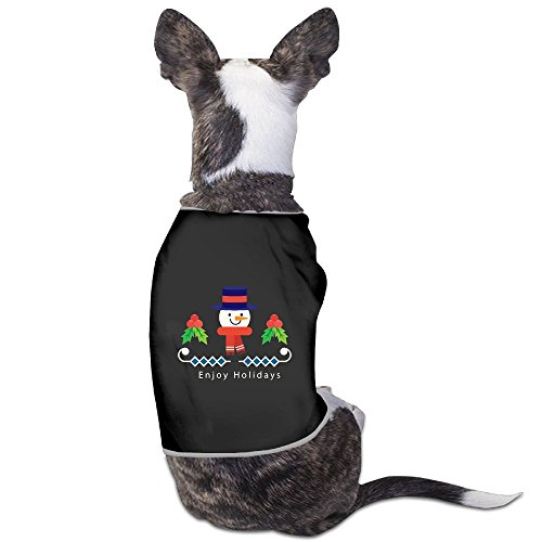 Images Of Snowman Costumes (Christmas Cartoon Hexagonal Snowman Custom Pet Puppy Tee Shirts Dogs Costumes Tank Top Vest)