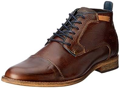 Wild Rhino Men's Cheeta Shoes, Dark Brown, 6 AU (40 EU)