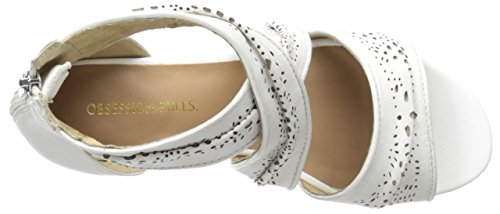 Women's Rules Obsession Nappa White Sandal Maya 865gqTw1