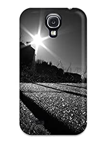 For PLjgrQG9543tcDTe Black And White Sunset Protective Case Cover Skin/galaxy S4 Case Cover