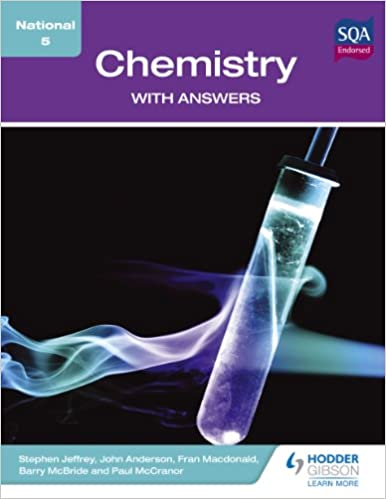 Book National 5 Chemistry with Answers