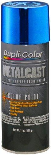 Dupli-Color MC201-6 PK (EMC201007-6 PK) Blue Anodized Coating - 11 oz. Aerosol, (Case of 6)