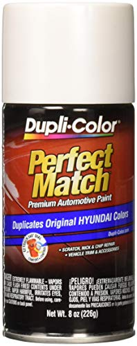 Dupli-Color BHY1805 White Pearl Single Perfect Match Hyundai Powder]()