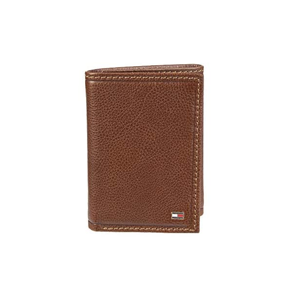 Tommy Hilfiger Men's Trifold Wallet-Sleek and Slim Includes ID Window and Credit...