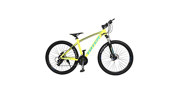 045cb15da26 TOTEM-3500 Aluminum Mountain Bike, Yellow: Amazon.ae: Oasis-store