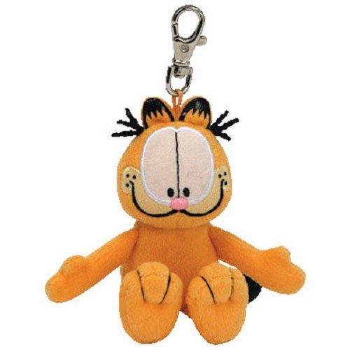 Ty Beanie Babies Garfield - Keychain -