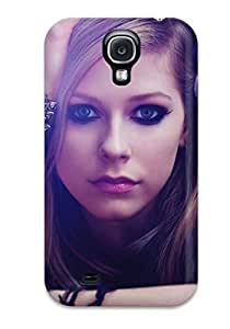Hot Design Premium NvonhLv1494fcLeM Tpu YY-ONE Galaxy S4 Protection Case(celebrity Avril Lavigne)