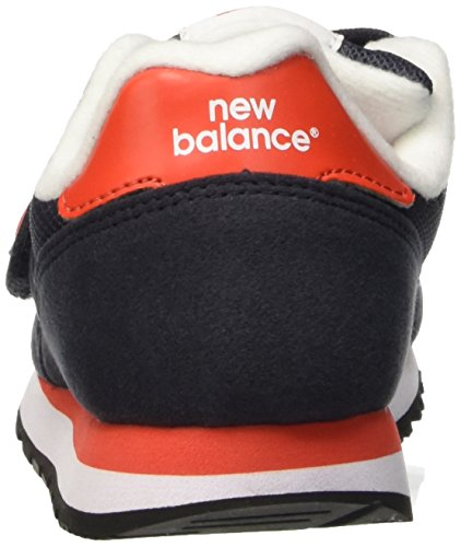 New Balance Nbkv373vrp, Zapatillas de Gimnasia Unisex Niños Azul Marino / Rojo