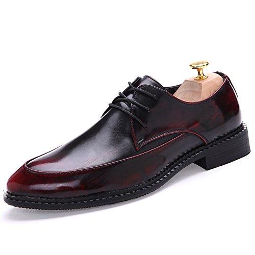 Xia Qiuying marea zapatos/Zapatos casuales de negocios/Zapatos con cordones Casualesesese acentuados Rojo